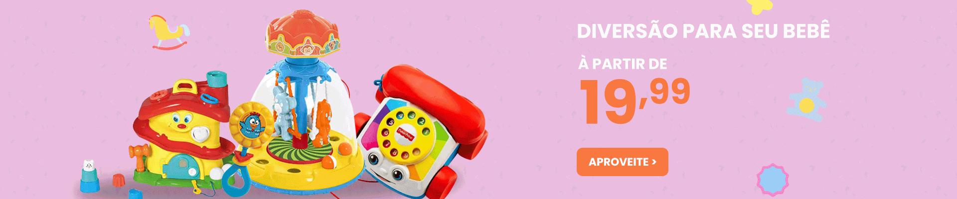 Brinquedos | Banner Diversão p/ seu bb