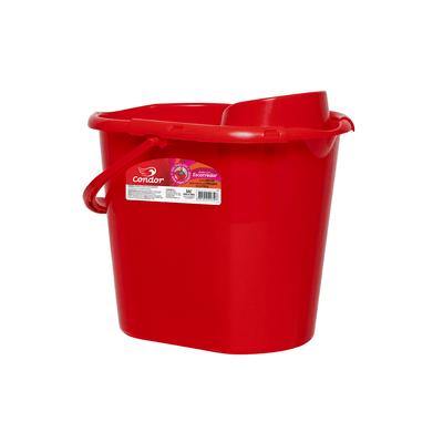 Balde-Condor-com-Escorredor-sem-Vassoura-Vermelho-12l