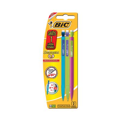 Lapiseira-Bic-Shimmers-0.9mm-HB-Nº2-com-3-Unidades