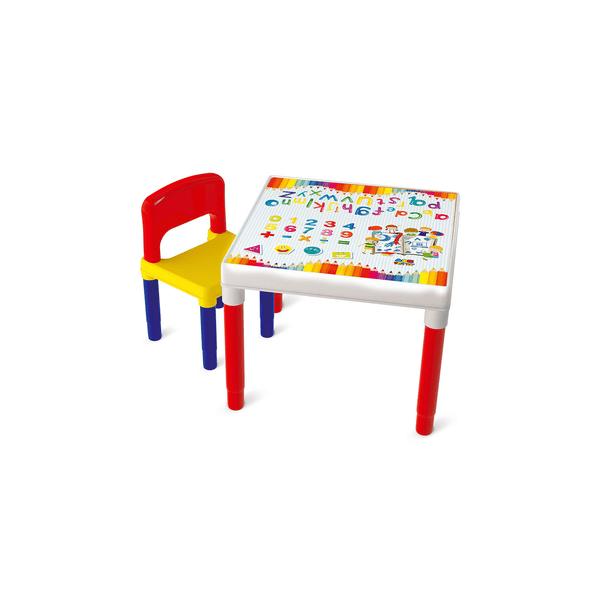 Mesa-Bell-Toy-Infantil-Escolar-com-Quadro-e-Cadeira