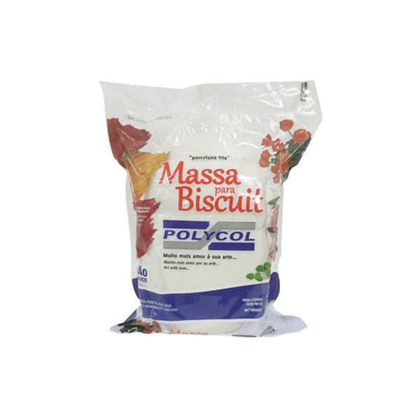 Massa-para-Biscuit-Polymetal-1kg-Branca