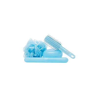 Kit-Viagem-Marco-Boni-com-Escova-de-Cabelo-Porta-Escova-Dental-Saboneteira-e-Esponja-para-Banho