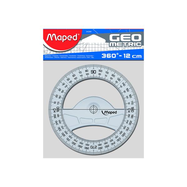Transferidor-Maped-360°-Plastico-Incolor