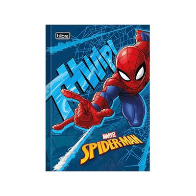 Caderno-Universitario-Tilibra-Brochura-Capa-Dura-Spider-Man-1-Materia-Capas-Diversas