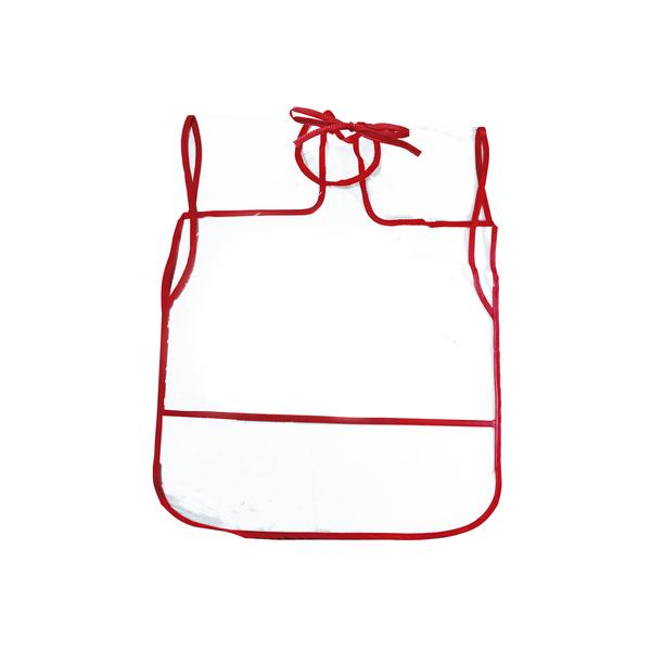 Avental-Infantil-Kit-Plastico-Liso-Borda-Cores-Diversas
