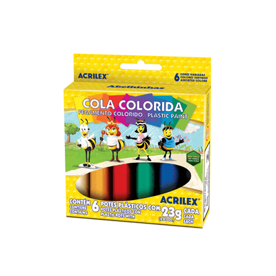 Cola-Acrilex-Colorida-com-6-Cores-23g