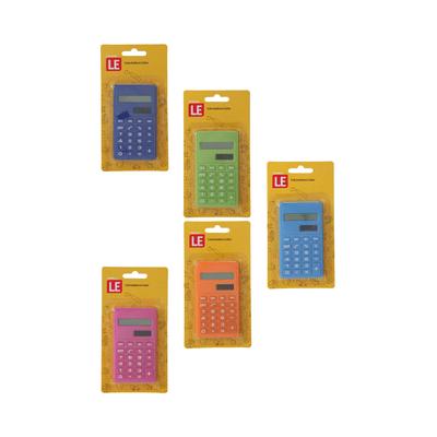 Calculadora-de-Bolso-Le-8-Digitos-Cores-Diversas-BFCC01