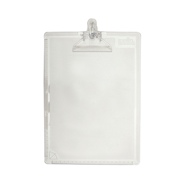 Prancheta-Dello-Oficio-Acrilico-Cristal-com-Prendedor-de-Plastico-24x34cm