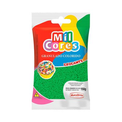 Granulado-Mil-Cores-Crocante-Verde-150g