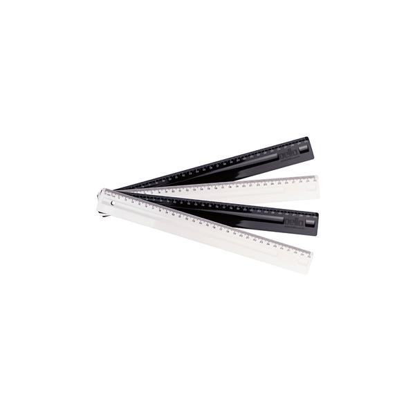 Regua-Dello-Black-White-30cm