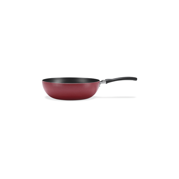 Panela-Wok-Brinox-Antiaderente-Vermelha-28cm-41l