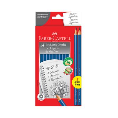 Lapis-Grafite-Faber-Castell-Eco-Max-Azul-Nº2B-com-14-Unidades