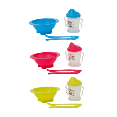 Kit-Alimentacao-Le-Fun-Infantil-com-Copo-de-Treinamento-com-3-Pecas