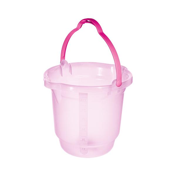 Balde-Sanremo-Plastico-Infantil-Rosa-15l
