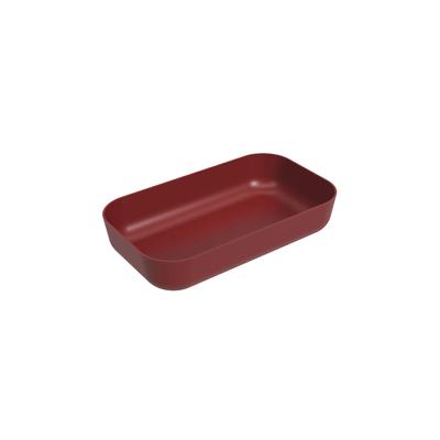 Tigela-Coza-Essential-Retangular-Vermelho-28l