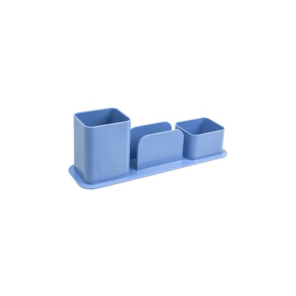 Porta-Caneta-Dello-Triplo-Color-Azul