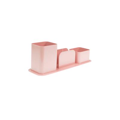 Porta-Caneta-Dello-Triplo-Color-Rosa