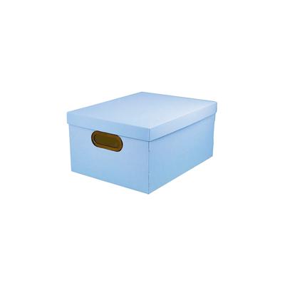 Caixa-Organizadora-Dello-Media-Serena-Azul-Pastel-38x29x18cm