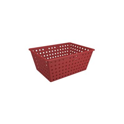 Cesta-Coza-Organizadora-One-Grande-Vermelha