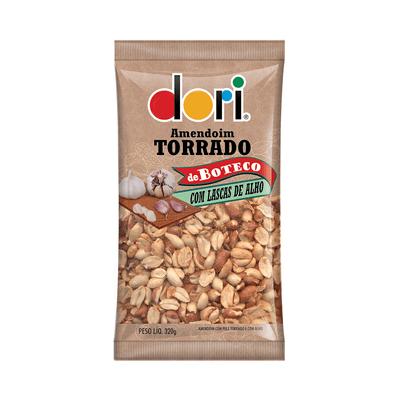 Amendoim-Boteco-Lascas-Alho-Dori-320g