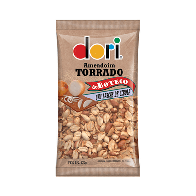 Amendoim-Boteco-Lascas-Cebola-Dori-320g
