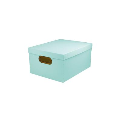 Caixa-Organizadora-Dello-Media-Serena-Verde-Pastel-38x29x18cm
