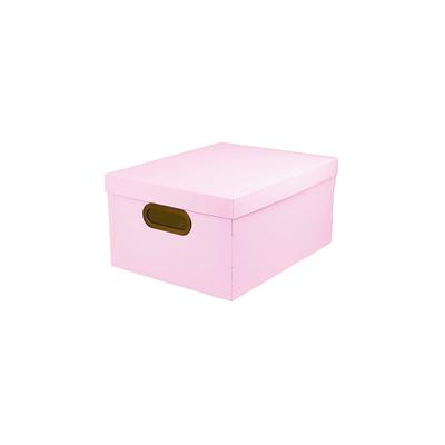 Caixa-Organizadora-Dello-Media-Serena-Rosa-Pastel-38x29x18cm