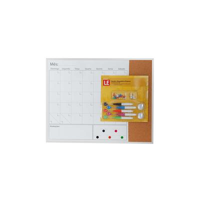 Quadro-Magnetico-Branco-Le-visao-Mensal-com-Cortica-Imas-Marcadores-e-Alfinetes-406x508cm