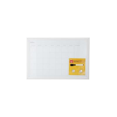 Quadro-Magnetico-Branco-Le-Planejamento-Mensal-com-2-Ima-e-Marcador-40x60cm