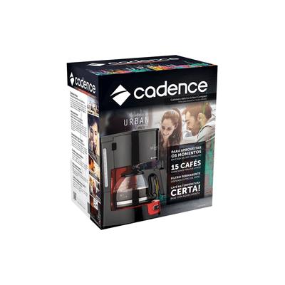 Cafeteira-Cadence-CAF300-Vermelha-127V