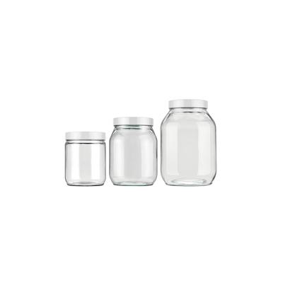 Conjunto-de-Potes-para-Mantimentos-Invicta-Liso-Branco-com-3-Pecas