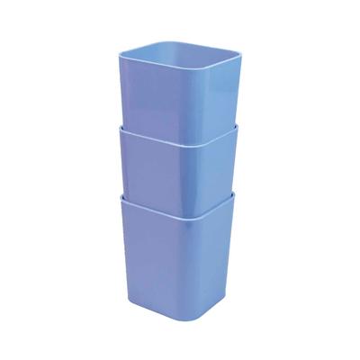 Porta-Objetos-Dello-Kit-com-03-Unidades-Azul