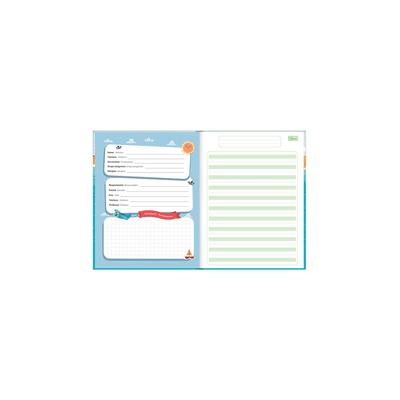 Caderno-Caligrafia-Tilibra-Brochura-Capa-Dura-Pauta-Verde-Sapeca-40-Folhas