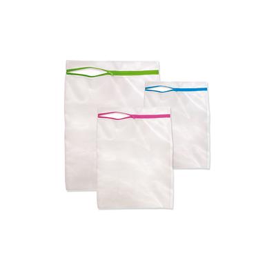 Kit-Saco-para-Lavar-Roupa-Plast-Leo-Branco-com-3-Pecas