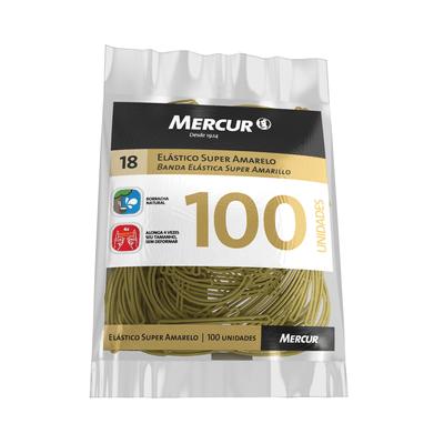 Elastico-Mercur-Amarelo-Nº18-com-100-Unidades