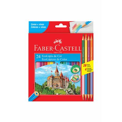 Lapis-de-Cor-Faber-Castell-Sextavado-24-Cores-e-1-Apontador