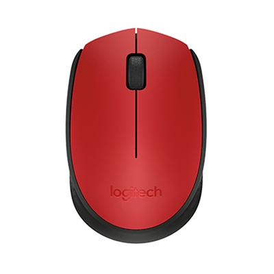 Mouse-Logitech-sem-Fio-Preto-e-Vermelho