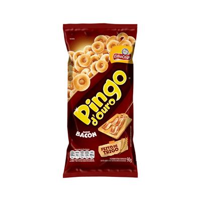 Salgadinho-Pingo-de-Ouro-Bacon-90g