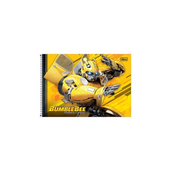 Caderno-Cartografia-Tilibra-Espiral-Capa-Dura-Transformers-80-Folhas-Capas-Diversas