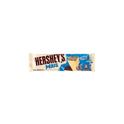 Chocolate-Wafer-Mais-Cookies-Creme-Hersheys-115g