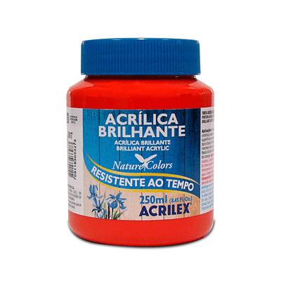 Tinta-Acrilica-Brilhante-250ml-Vermelho-Fogo