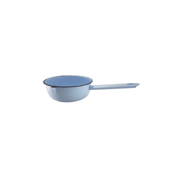 Papeiro-Metallouca-Esmaltado-Azul-14cm
