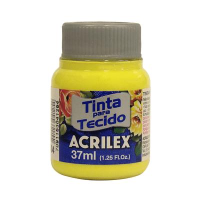 Tinta-para-Tecido-37ml-Amarelo-Limao