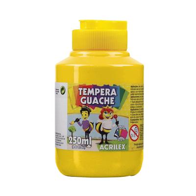 Tinta-Guache-Acrilex-Amarelo-Ouro-250ml