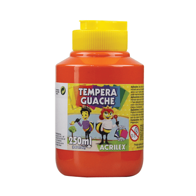 Tinta-Guache-Acrilex-Vermelho-250ml