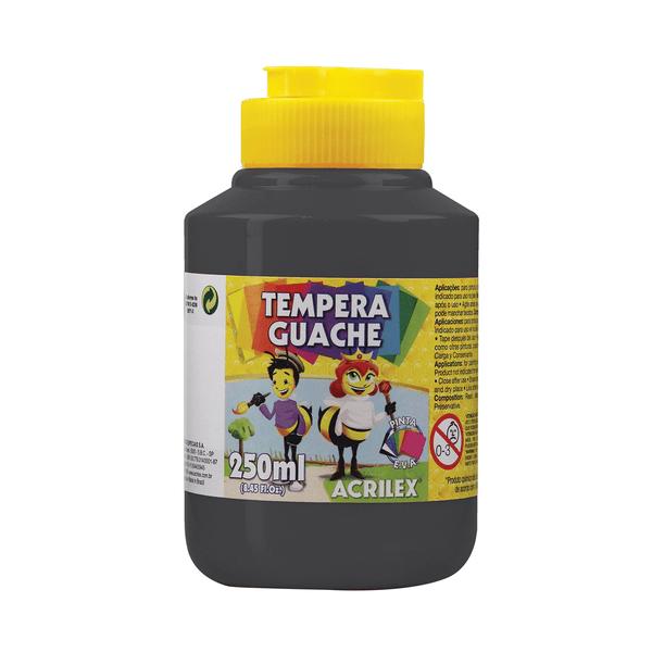 Tinta-Guache-Acrilex-Preto-250ml