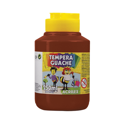 Tinta-Guache-Acrilex-Marrom-250ml