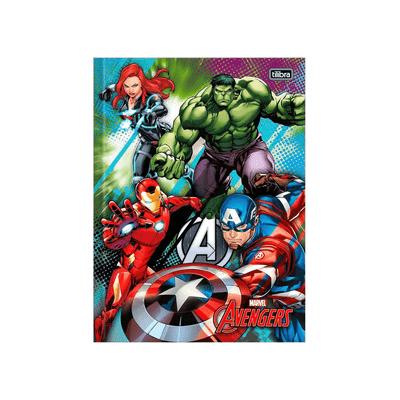 Caderno-Universitario-Tilibra-Brochura-Capa-Dura-Avengers-1-Materia-Capas-Diversas