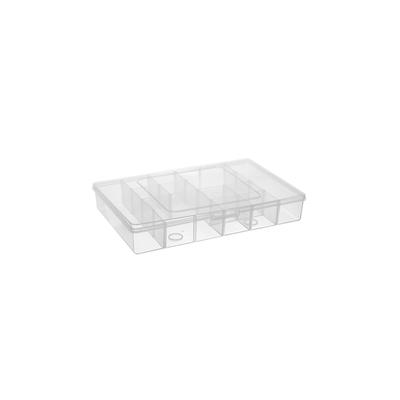 Organizador-Plastico-com-12-Divisorias-147x225x4cm-1564-Transparente