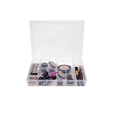 Organizador-Plastico-com-12-Divisorias-29x225x45cm-1580-Transparente